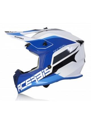 Шлем ACERBIS LINEAR white blue