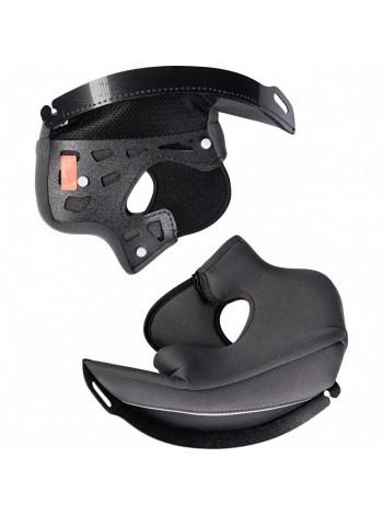 Щечные накладки для мотошлема Scorpion EXO-920/ADX-1 Top vent Ass'y Black