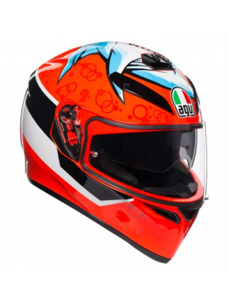 Мотошлем AGV K-3 SV Attack Orange L