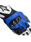 Мотоперчатки Alpinestars SP-2 White-Black-Blue L
