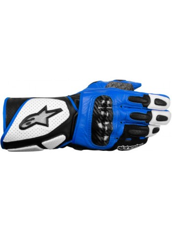 Мотоперчатки Alpinestars SP-2 White-Black-Blue