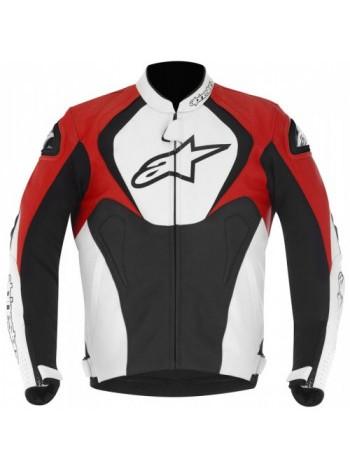 Мотокуртка Alpinestars Jaws Black-White-Red 50 50