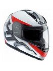 Мотошлем детский HJC Cly Goli MC1SF White-Black-Red S
