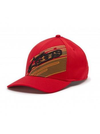 Кепка Alpinestars Starks Curved Red L- L-XL