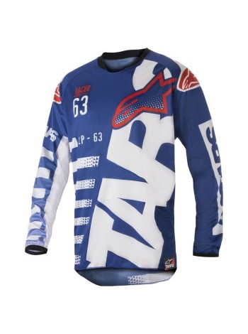 Мотоджерси Alpinestars Racer Braap Blue-White-Red M (32)