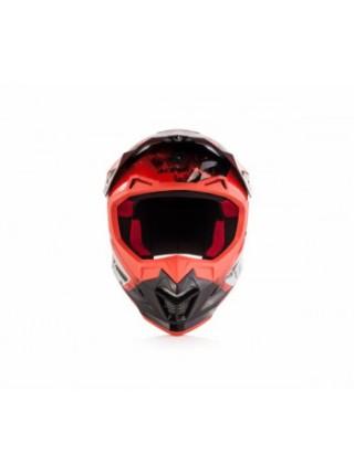 Мотошлем Acerbis Profile 4 white-red