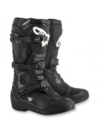 Мотоботы Alpinestars Tech-3 New Black 42(8) 42