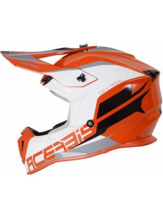 Шлем ACERBIS LINEAR orange white