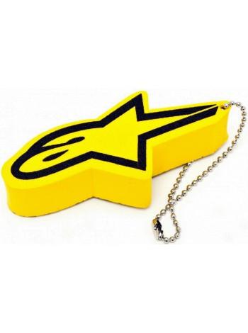 Брелок для ключей Alpinestars FLOATER Yellow