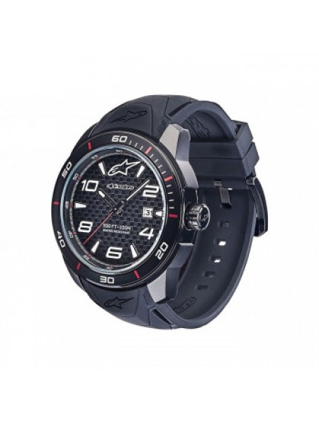 Часы Alpinestars Tech Watch 3H Black