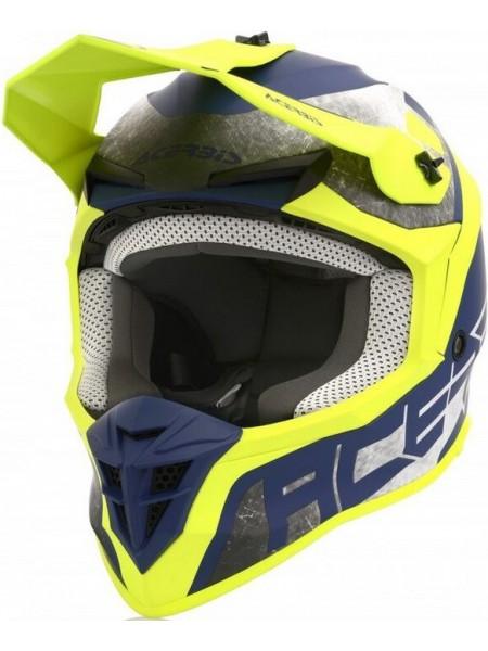 Шлем ACERBIS LINEAR yellow blue