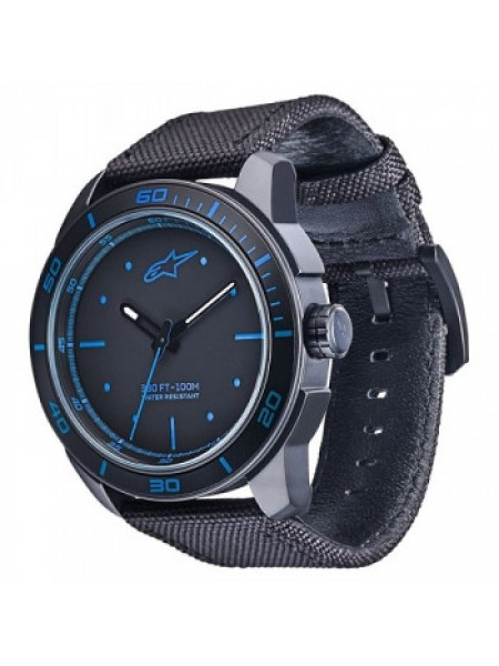 Часы Alpinestars Tech Watch 3H Black-Blue