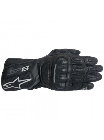Мотоперчатки женские Alpinestars Stella SP-8 V.2 Black-Dark Grey M M