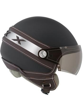 Mотошлем Nexx X60 ICE Soft Black-Brown