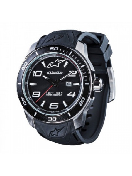 Часы Alpinestars Tech Watch 3H Steel-Black