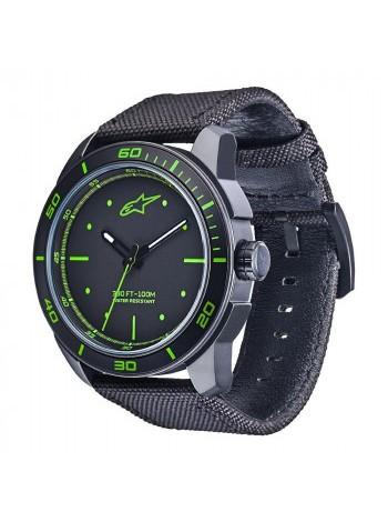 Часы Alpinestars Tech Watch 3H Black-Green