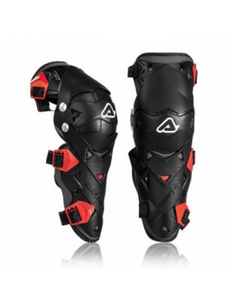 Мотонаколенники Acerbis black-red Impact Evo 3.0