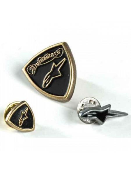 Набор значков Alpinestars Pin Set Black