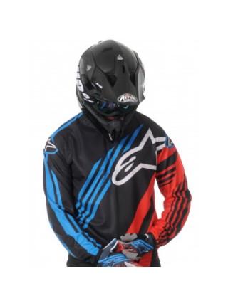 Джерси Alpinestars Racer Supermatic Black-Red-Blue M (2015)