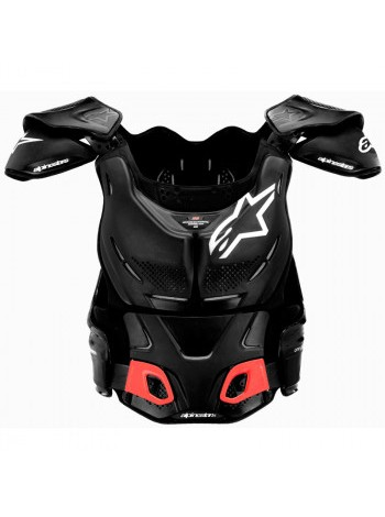 Моточерепаха Alpinestars A-8 Black-White M- M2XL