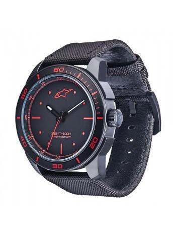 Часы Alpinestars Tech Watch 3H Black-Red