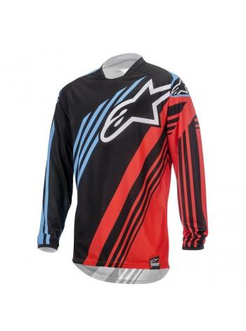Джерси Alpinestars Racer Supermatic Black-Red-Blue M (2015) M