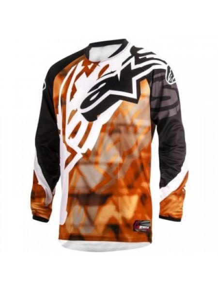 Джерси Alpinestars Racer Orange-Black 32 (2014)