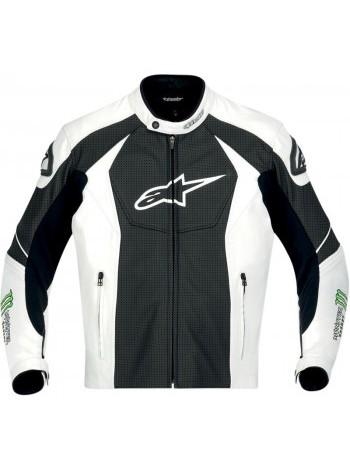 Мотокуртка Alpinestars GP-M Black-White-Green 52