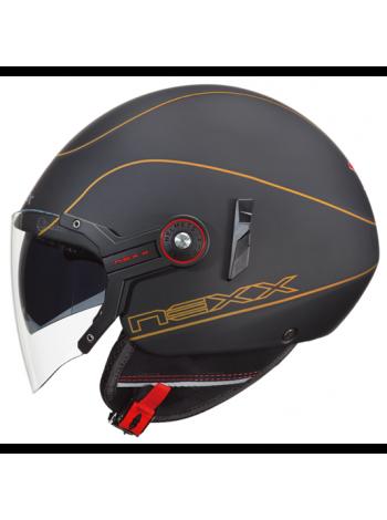Мотошлем Nexx X60 Mercure Black-Gold XL