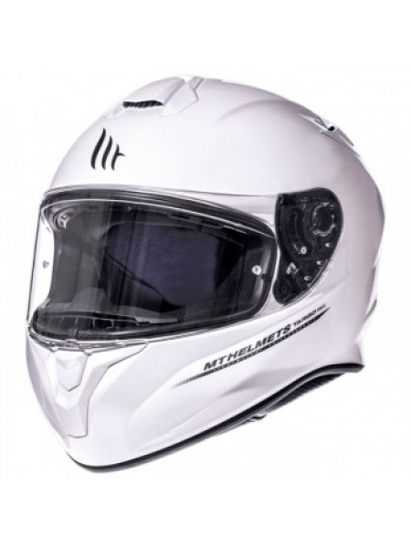 Мотошлем MT Targo Pearl White