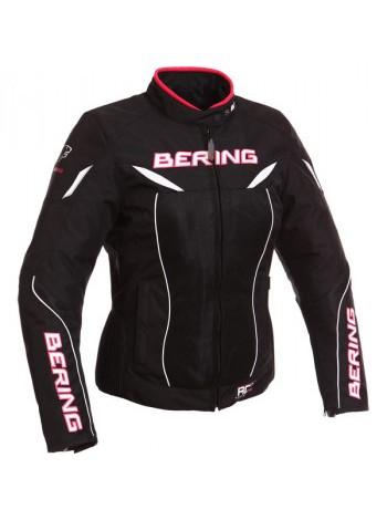 Мотокуртка женская Bering Kwerk Black-Pink T3
