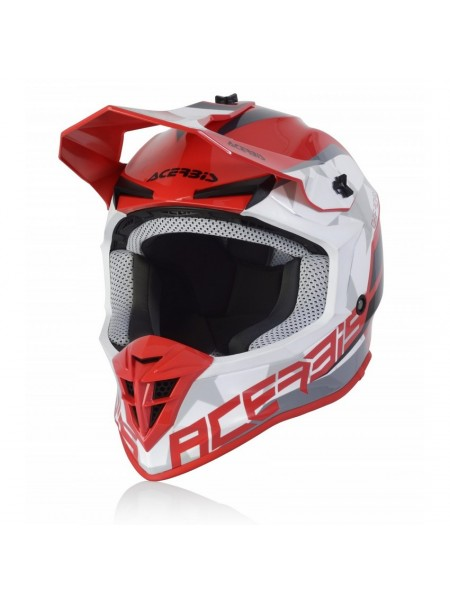 Шлем ACERBIS LINEAR red white