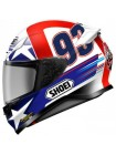 Мотошлем Shoei NXR Indy Marquez TC-2 Blue-Red-White S S