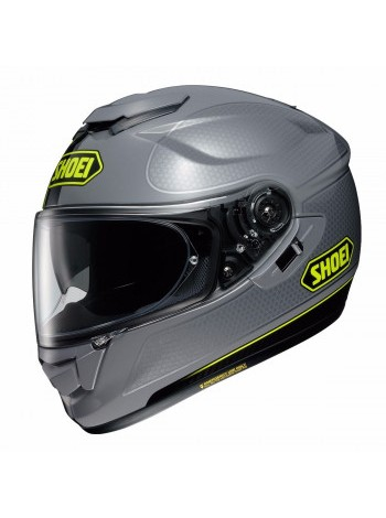 Мотошлем SHOEI GT-Air Wanderer TC-10 Grey-Yellow XL