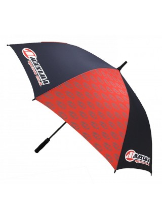 Парасолька MAXIMA Manual Umbrella Black Red
