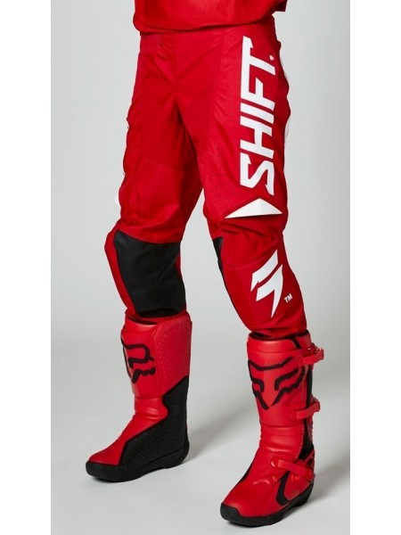 Мото штани SHIFT WHITE LABEL TRAC PANT RED 32