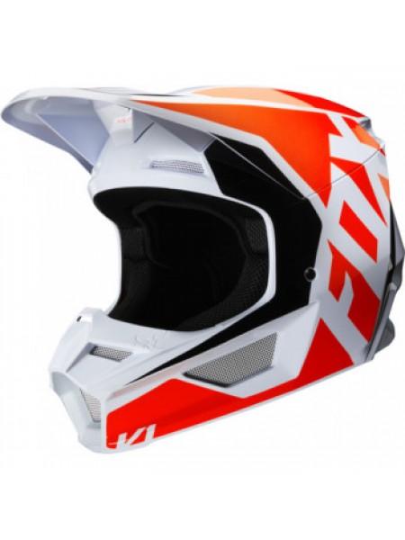 Мотошлем FOX V1 Prix Flo Orange XL
