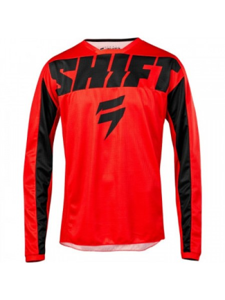 Мотоджерси детская Shift Youth Whit3 York Jersey Red Y