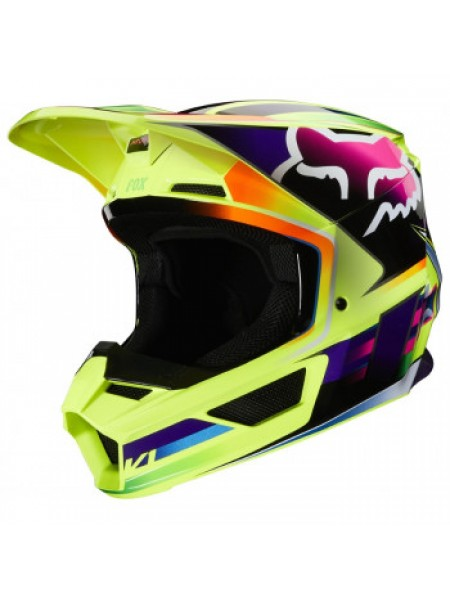 Мотошлем Fox V1 Gama Helmet Yellow L