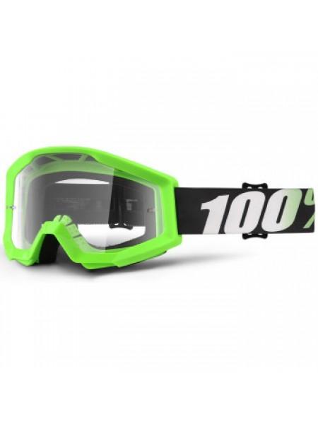 Мотоочки 100% Strata Moto Goggle Arkon - Clear Lens