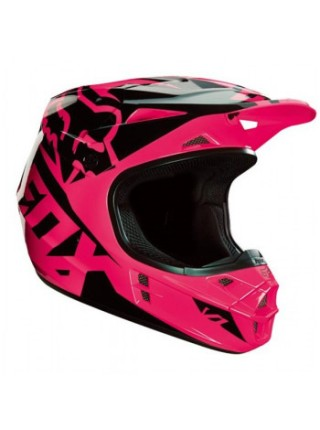 Мотошлем Fox V1 Mako Helmet Ece Pink