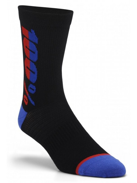 Вело шкарпетки Ride 100% RYTHYM Merino Wool Performance Socks Black S M