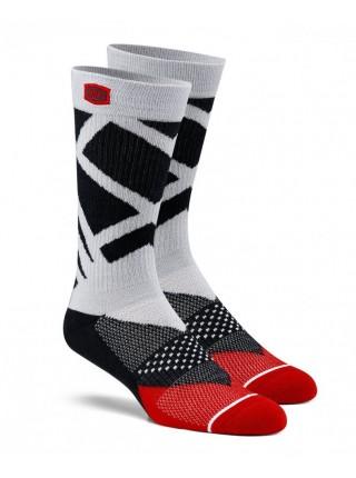 Шкарпетки Ride 100% RIFT Athletic Socks Steel Grey S M