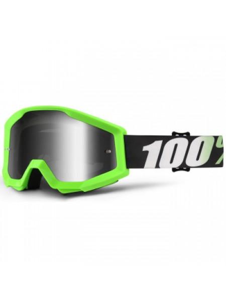 Мотоочки 100% Strata Goggle Arkon - Mirror Silver Lens