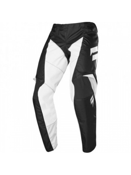 Мотоштаны детские SHIFT Whit3 Race Pant Black-White Y 28