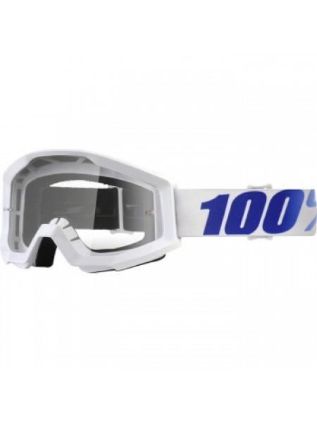Мотоочки 100% Strata Moto Goggle Equinox - Clear Lens