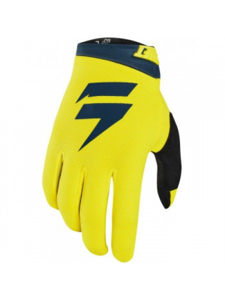 Мотоперчатки SHIFT Whit3 Air Glove Yellow-Navy S (8)