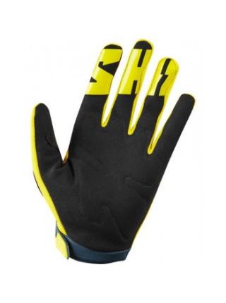 Мотоперчатки SHIFT Whit3 Air Glove Yellow-Navy S (8)