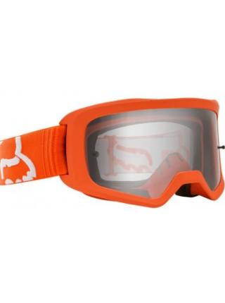 Мотоочки FOX Main II Race Goggle Flo Orange Clear Lens