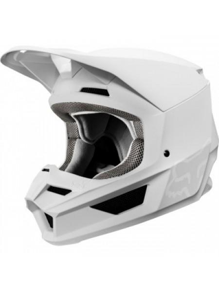 Мотошлем Fox V1 Matte Helmet White